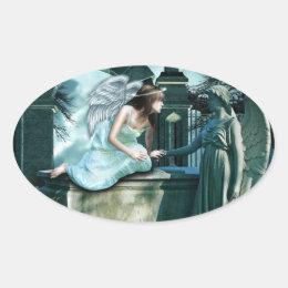 Angelic Curiosity Sticker