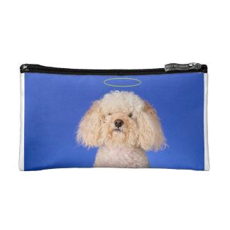 Angelic Dog Cosmetic Bag