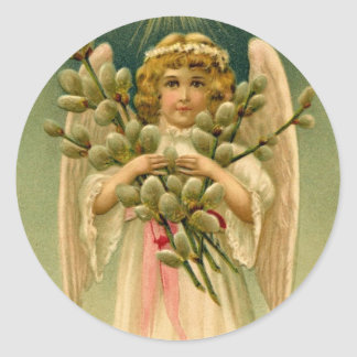 Angelic Easter stickers