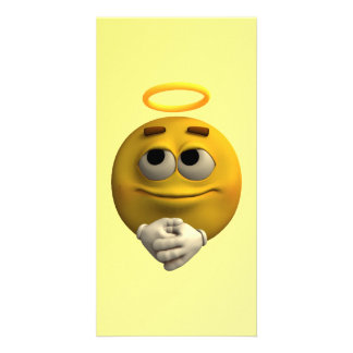 Angelic Emoticon Card