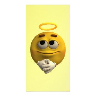 Angelic Emoticon Card