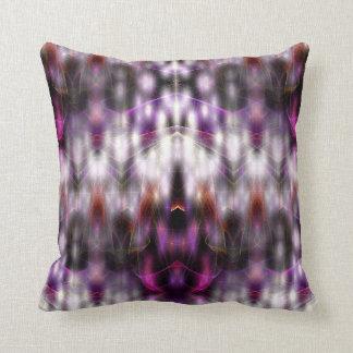 Angelic Energies (purple) Throw Pillow