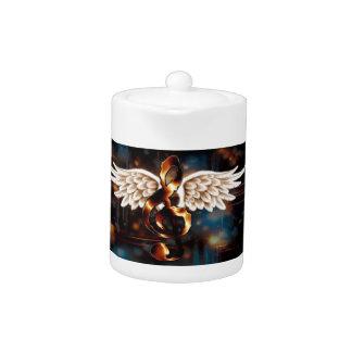 Angelic G Clef Teapot