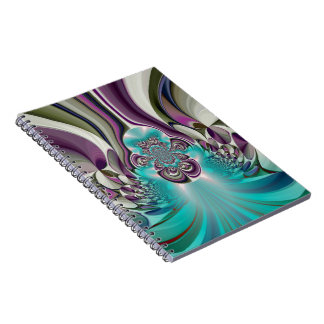 Angelic Hakuna Matata Purple Heart Custom Product Notebook