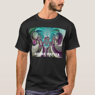 Angelic HakunaMatata Purple Heart Custom Product T-Shirt