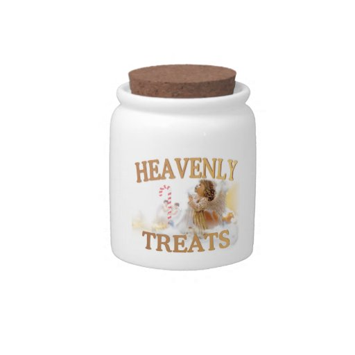 Angelic Heavenly Treats Candy Jar