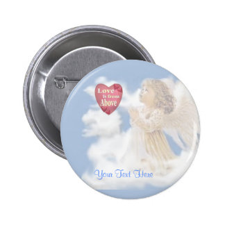 Angelic Love Is From Above Pin