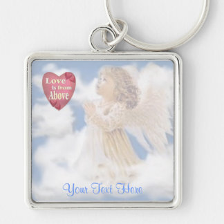 Angelic Love Is From Above Key Chains