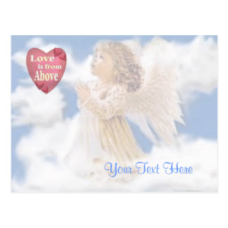 Angelic Love Is From Above Postcard