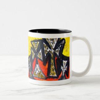 """Angelic March"" Coffee Mugs"