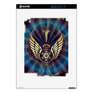 Angelic- Merkaba-Metatron cube Skin For iPad 2