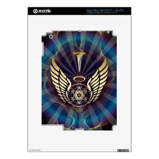 Angelic- Merkaba-Metatron cube Decals For iPad 3
