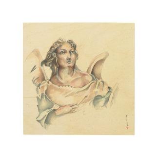 Angelic messenger wood print
