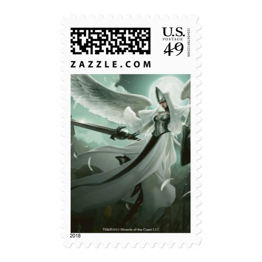 Angelic Overseer Postage Stamps