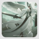 Angelic Overseer Square Sticker