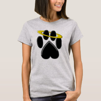 Angelic Paw Print T-Shirt