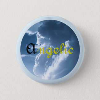 Angelic Pinback Button