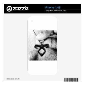 Angelic Power Rune Decal For iPhone 4S