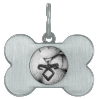 Angelic Power Rune Pet Name Tag