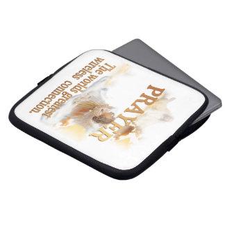 Angelic Prayer Worlds Greatest Wireless Connection Computer Sleeve