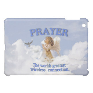 Angelic Prayer Worlds Greatest Wireless Connection iPad Mini Covers