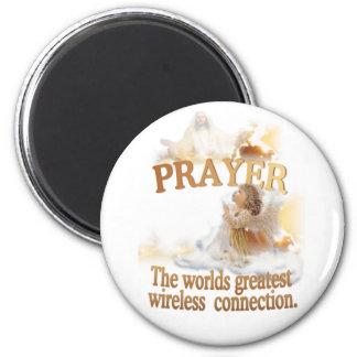 Angelic Prayer Worlds Greatest Wireless Connection Magnet