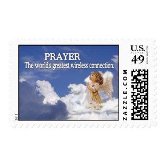 Angelic Prayer Worlds Greatest Wireless Connection Stamp