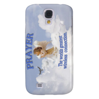 Angelic Prayer Worlds Greatest Wireless Connection Samsung Galaxy S4 Cover