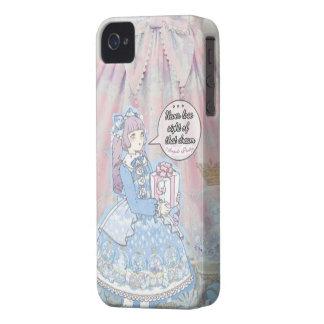 Angelic Pretty Sugar Dream Dome w/girl and Quote iPhone 4 Case-Mate Cases