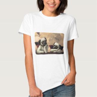 Angelic Pug Cherub Gift Items Tee Shirt