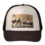 Angelic Pug Cherub Gift Items Trucker Hat