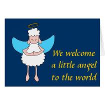 Angelic Sheeple Card