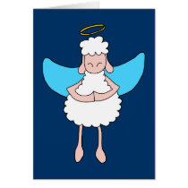 Angelic Sheeple Card