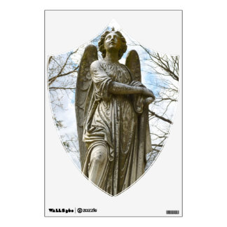 Angelic Shield wall decal