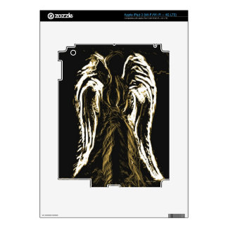Angelic  Silhoutte.jpg iPad 3 Decal