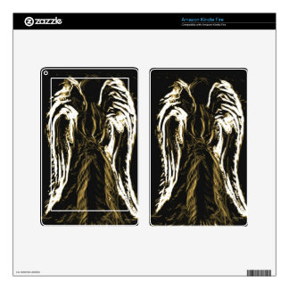 Angelic  Silhoutte.jpg Skins For Kindle Fire