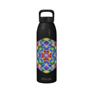 Angelic Solfeggio Frequency 888Hz Reusable Water Bottle