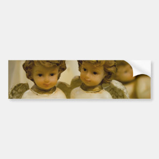 Angelic Statues Bumper Sticker