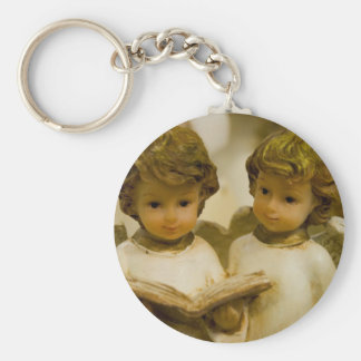 Angelic Statues Keychains