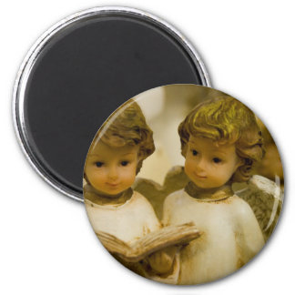 Angelic Statues Magnet