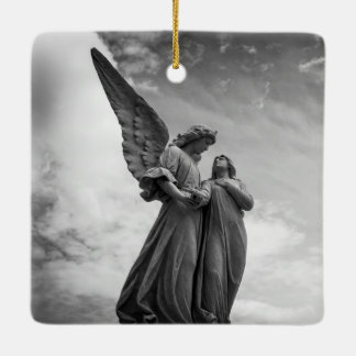 Angelic Statues Ornament
