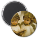 Angelic Statues Refrigerator Magnets