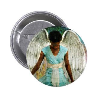 Angelic Thanks 2 Inch Round Button
