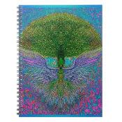 Angelic Tree of Life Spiral Notebook (<em>$13.70</em>)