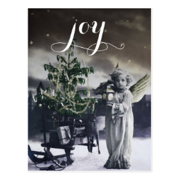 Angelic Vintage Italian Christmas Card