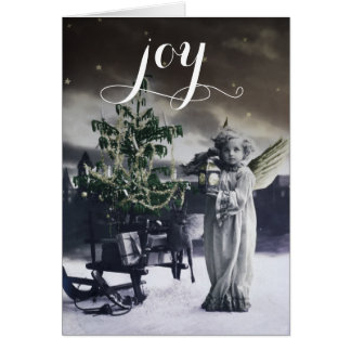 Angelic Vintage Italian Christmas Card