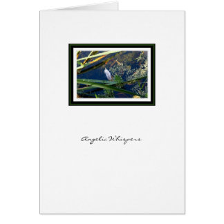 Angelic Whispers Angel Feather - Greeting Card