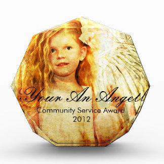 Angelic Wonder Acrylic Award