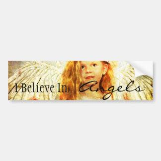 Angelic Wonder Car Bumper Sticker