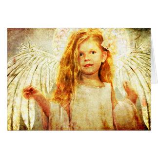 Angelic Wonder Greeting Card